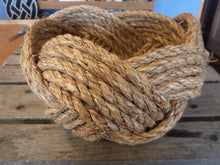 "10"" x 5"" Rope Bowl - Natural Nautical Decor - Alaska Rug Company"