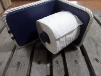 Nautical Bathroom Fixture Toilet Paper Holder