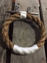 Manila Rope Towel Ring Double Accent - Alaska Rug Company