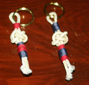Knotted Nautical Sailor Key chain-Zipper Pull - Alaska Rug Company