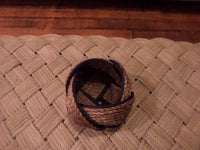 "6"" x 8"" Rope Bowl-Manila and Navy"