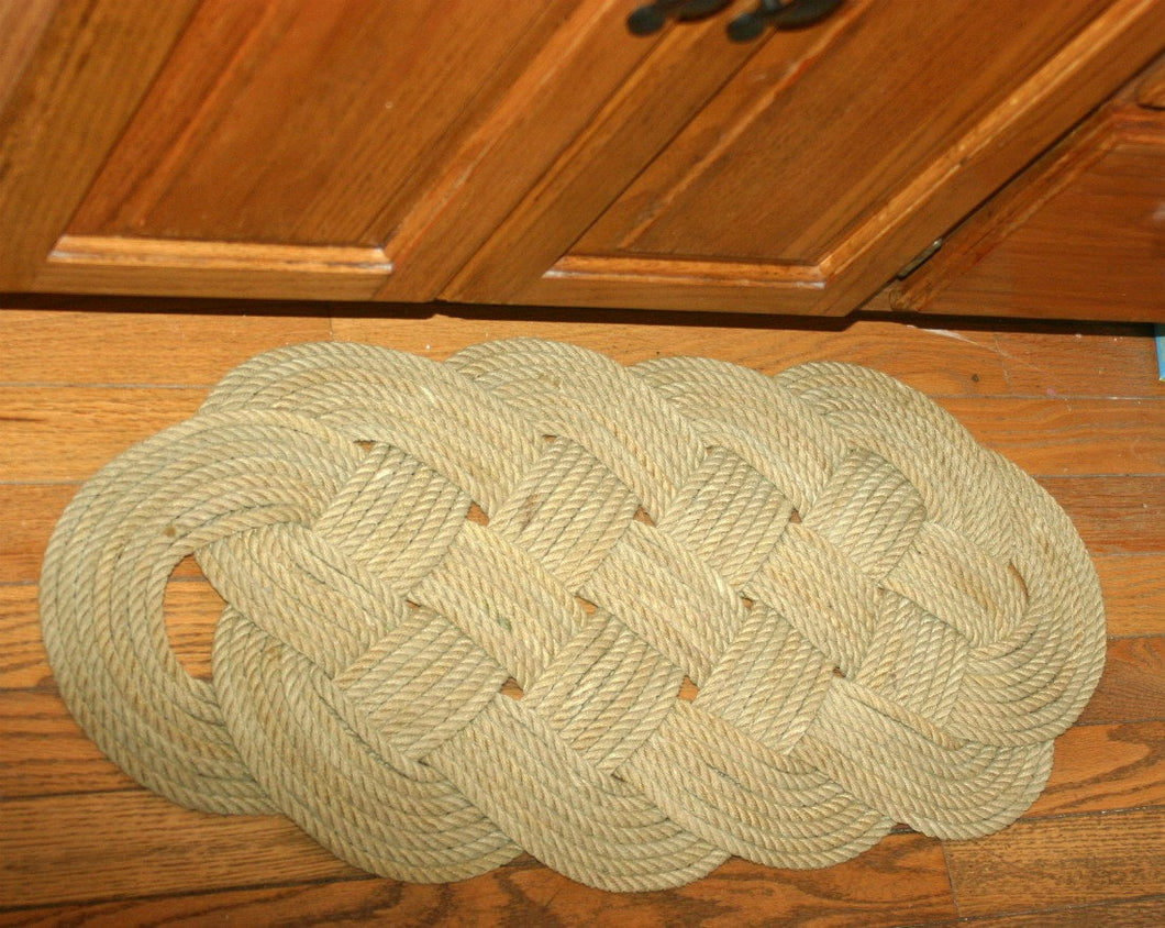 Natural Tan Throw Rug 28