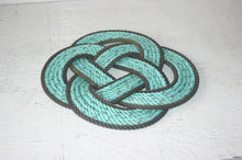Rope Trivet Hot Plate Made in Alaska Recycled Rope
