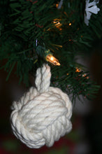 Knotted Christmas Ornament-Monkey Fist - Alaska Rug Company