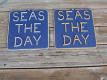 SEAS THE DAY Sign (stacked) - Alaska Rug Company