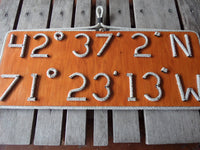 Latitude & Longitude Sign