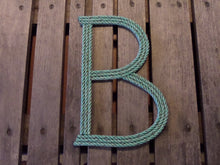 12 Inch Rope Letter Handmade Nautical Decor Wall Hanging