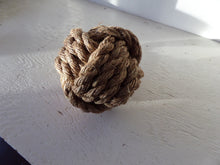Monkey Fist Knotted Bookend or Doorstop Manila Rope - Alaska Rug Company