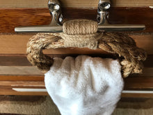Manila Rope Towel Ring Rack-Natural Accent