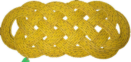 Crab Mat Yellow with Black Specks 47