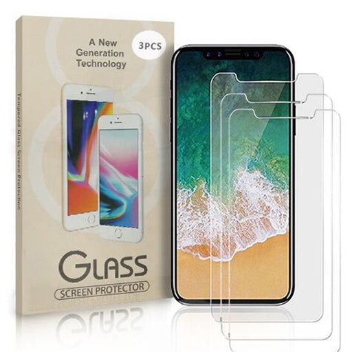 iPhone X/XS Tempered Glass 3-Pack