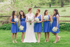 Bridesmaids Style Guide: Short Bridesmaid Dresses