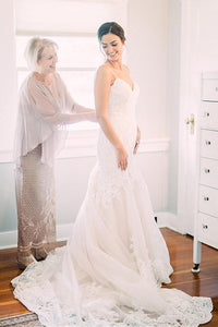 Pretty Mermaid Long Bridal Dresses