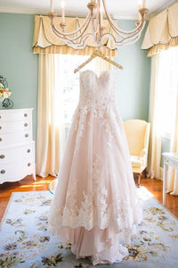 Amazing Hi-Lo Lace Bridal Dress