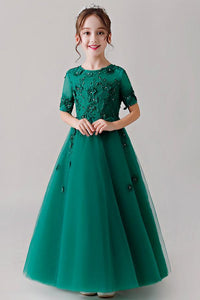 Elegant Tulle Flower Girl Dresses