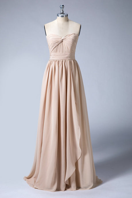 Sweetheart Long Bridesmaid Dresses