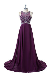 Beading Sleeveless Evening Dresses