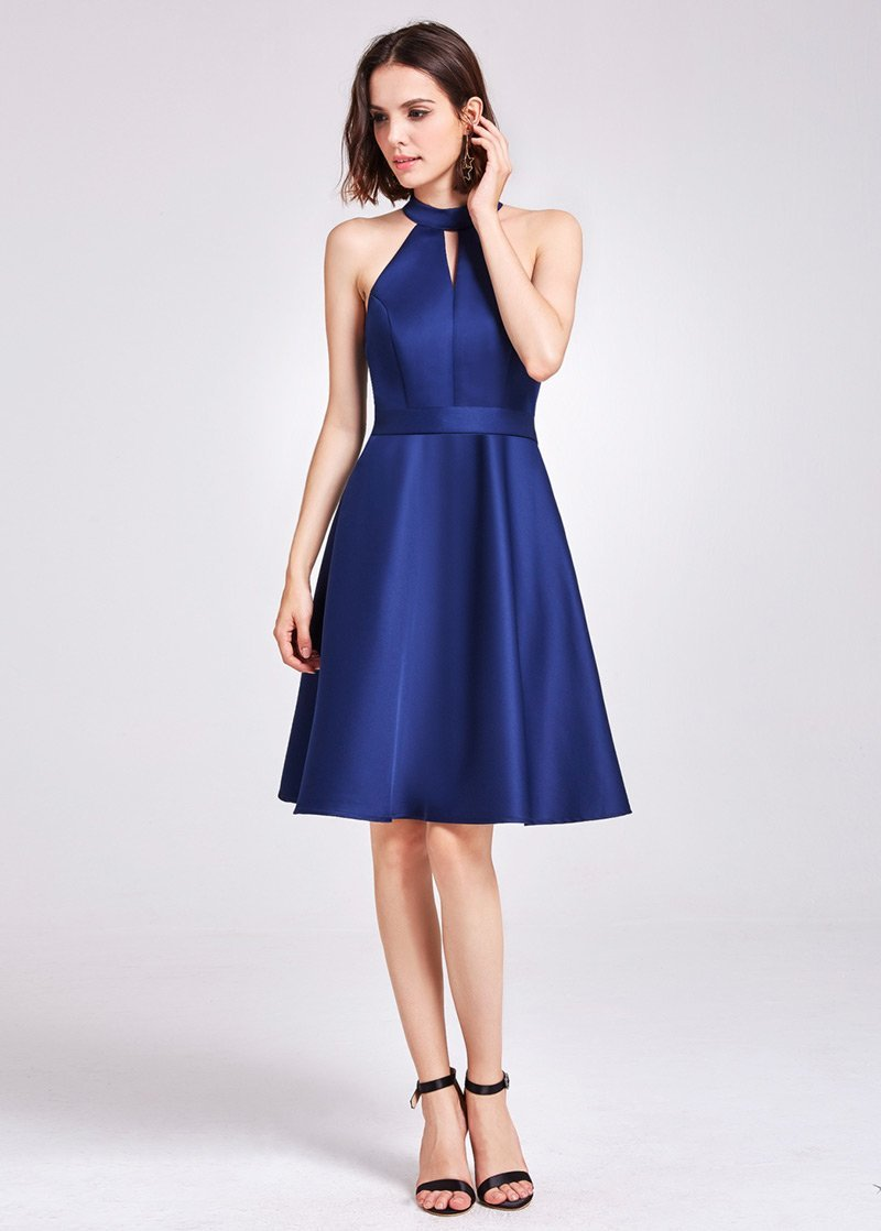 Chic Knee-length Bridesmaid Dress