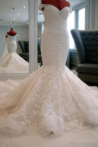 White Most Popular Beading Lace Wedding Dresses
