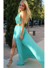 Admirable A-line/Princess Goffer Chiffon Prom Dresses