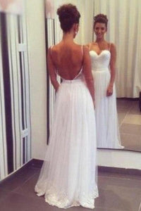 Superior Zipper Tulle Sweetheart Long/Floor-length Natural Prom Dresses