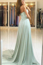 Elegant Sweetheart Lace Floor-Length Prom Dresses