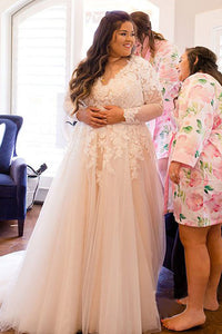 2019 New Trend, Tailor Made Cheap Plus Size Wedding Dresses UK ...