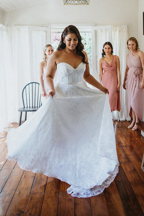 Sleeveless Sweetheart Tulle Plus Size Wedding Dresses