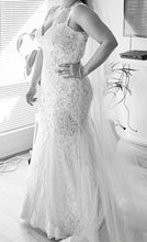 Trumpet/Mermaid Tulle Appliques Lace Wedding Dresses