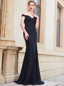 Sexy Off-the-shoulder Mermaid Formal Prom Dresses