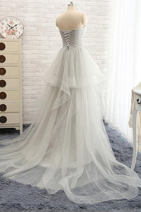 Fashion Ball Gown Sweetheart Long Tulle Prom/Evening Dress