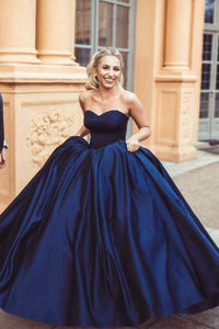 Marvelous Ball Gown Sweetheart Sleeveless Long Prom Dresses