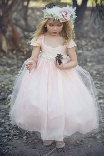 Enchanting Princess Sweetheart Tulle Empire Flower Girl Dresses