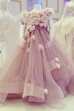 Generous Organza Flower(s) Ball Gown Flower Girl Dresses