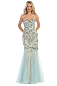 Charming Mermaid Formal Prom Dress For Sale