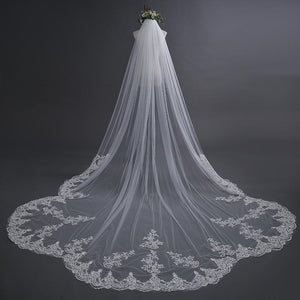 3 *3 Meters Lace Wedding Veil