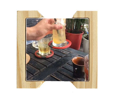 Custom Ceramic coaster