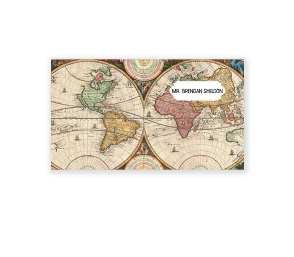 Rectangle Wooden Postcard