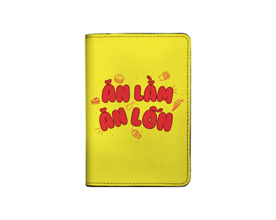 Ăn lằm ăn lốn I-001-007 Passport Holder