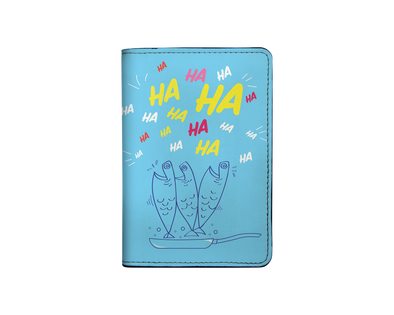 HAHA I-001-005-P Passport Holder