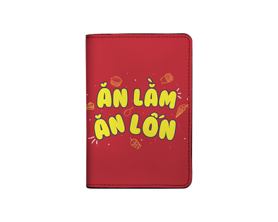 Ăn Lằm ăn lỗn I-001-021-P Passport Holder