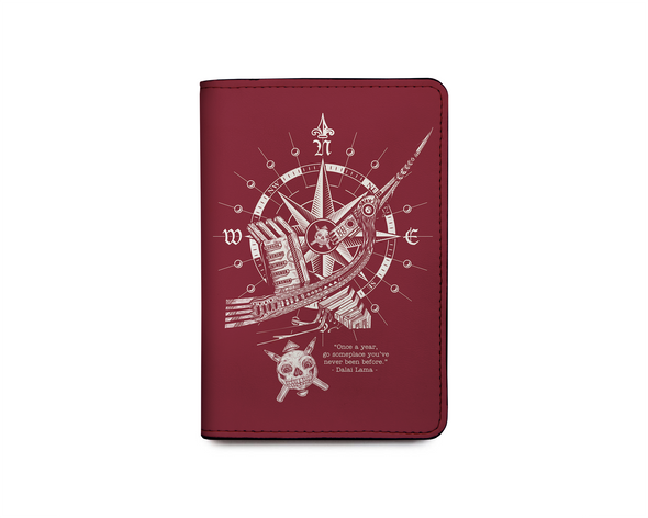 Chim hạc Passport Holder