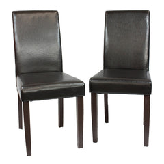 Montina Wooden Dining Chairs 2x