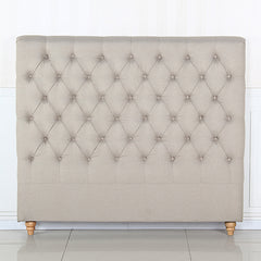 Sean Headboard King Size Beige