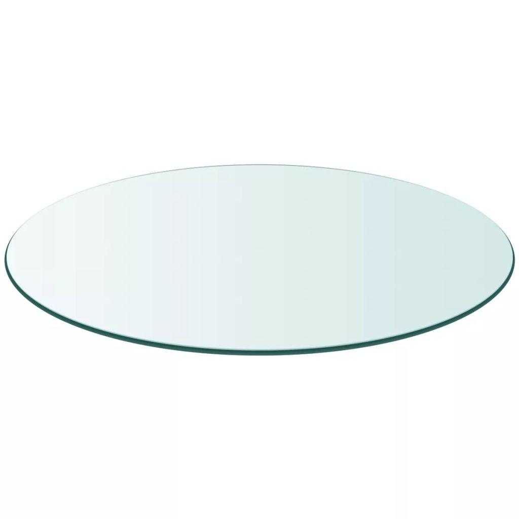 Table Top Tempered Glass Round 500 mm