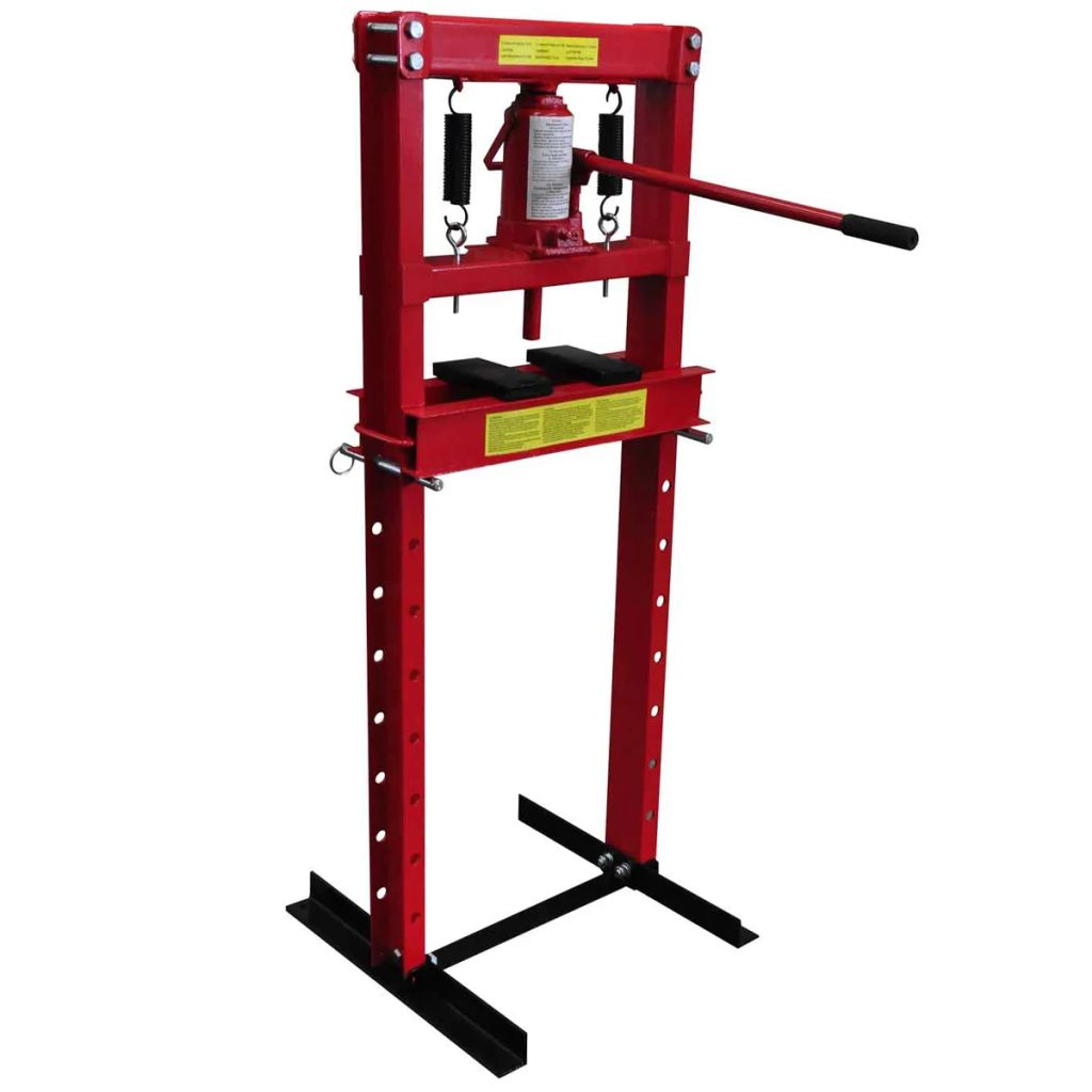 12-ton Hydraulic Heavy Duty Floor Shop Press