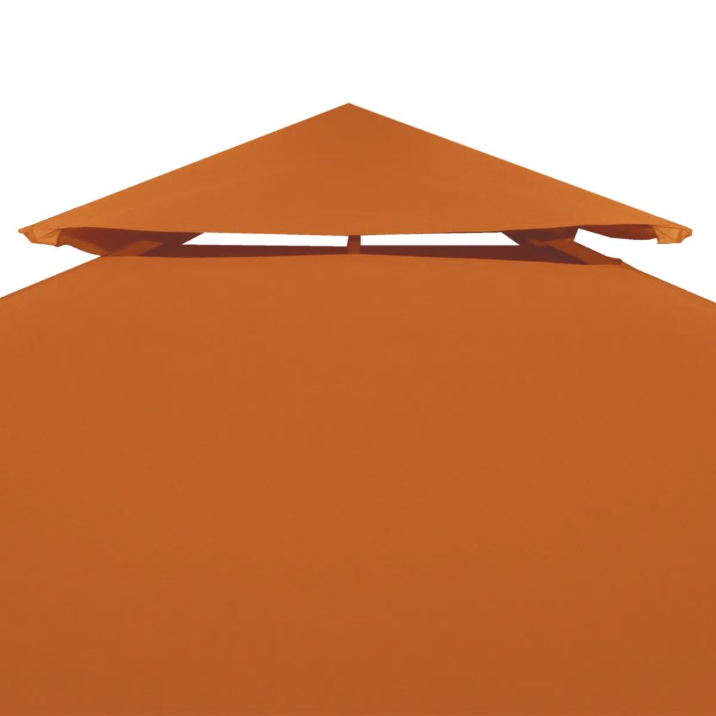 Water-proof Gazebo Cover Canopy 310 g/m² Terracotta 3 x 3 m