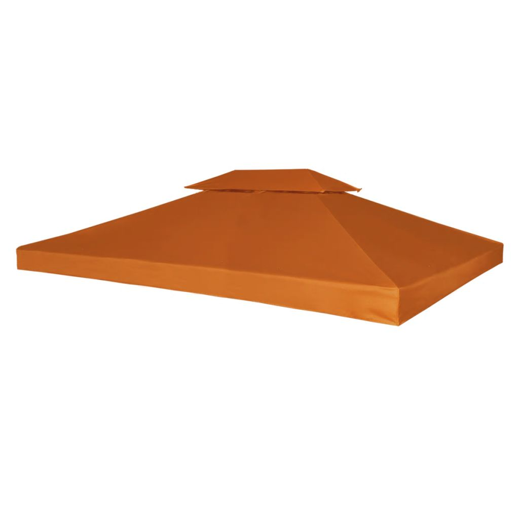 Water-proof Gazebo Cover Canopy 310 g/m² Terracotta 3 x 4 m