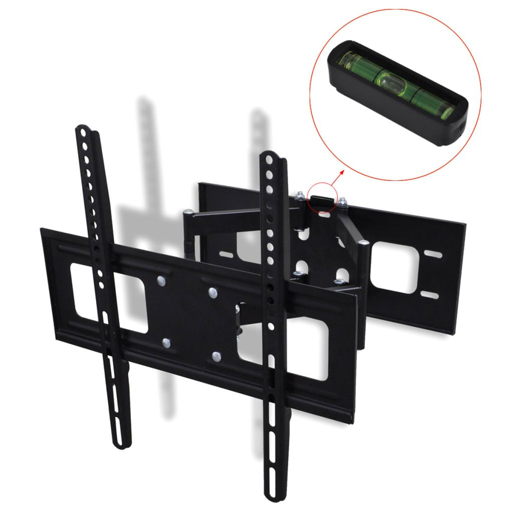 "Double-armed Tilt Swivel Wall TV Bracket 3D 400x400mm 32""-55"""