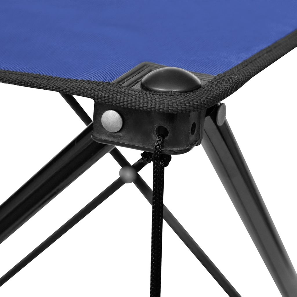 Foldable Camping Table Blue